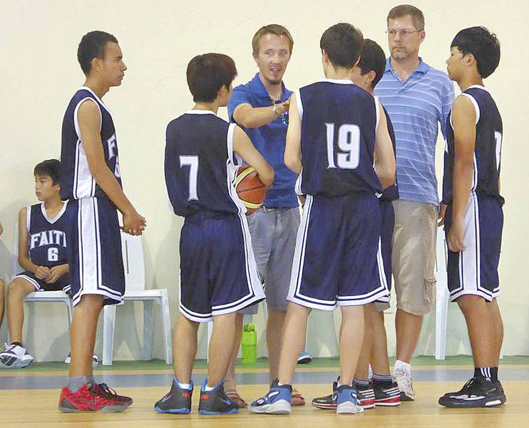 On a mission: Area couple teaches, coaches missionaries' kids in Philippines