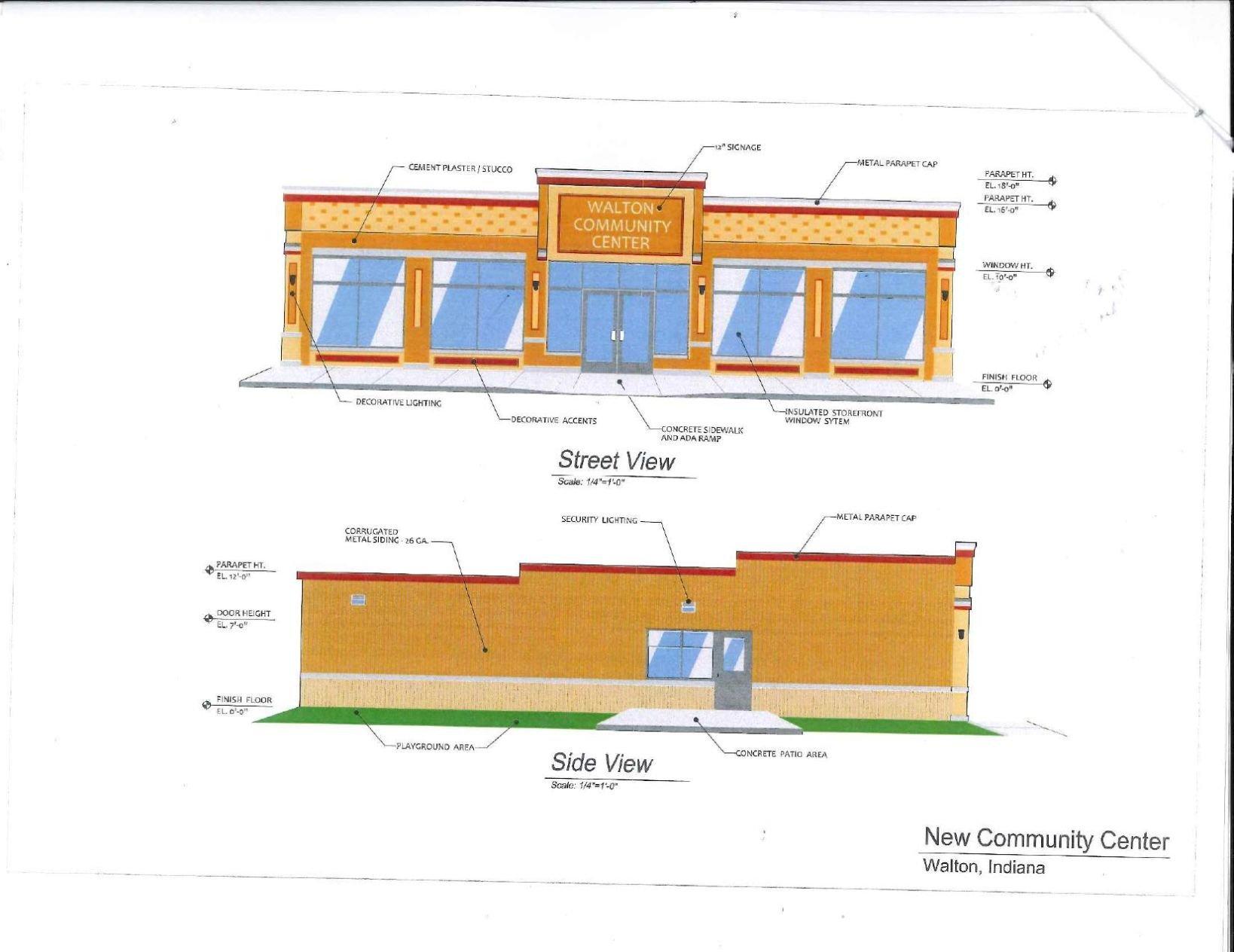 Download PDF Walton Community Center Renderings