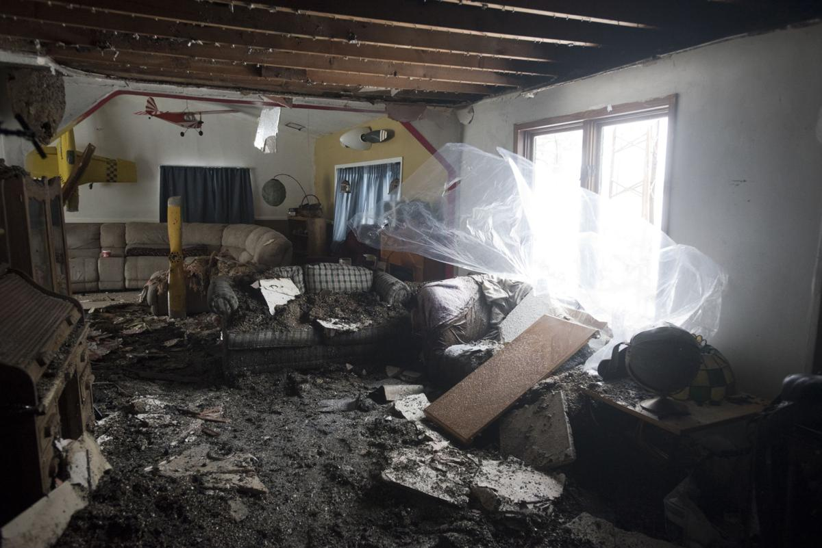 Walters family home catches fire