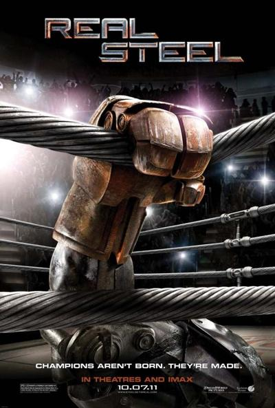 """""""Real Steel"""" movie poster"""