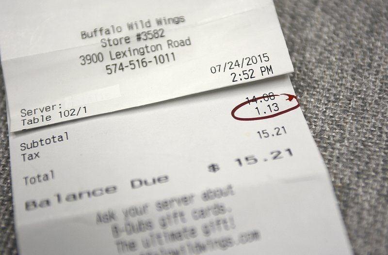 Chicago Restaurant Sales Tax