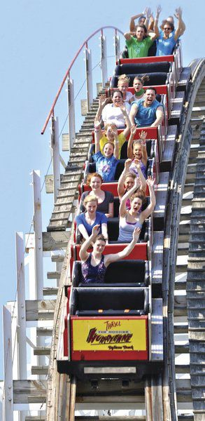 Girl shocked on Indiana Beach coaster