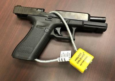 LPD handing out gun safety locks