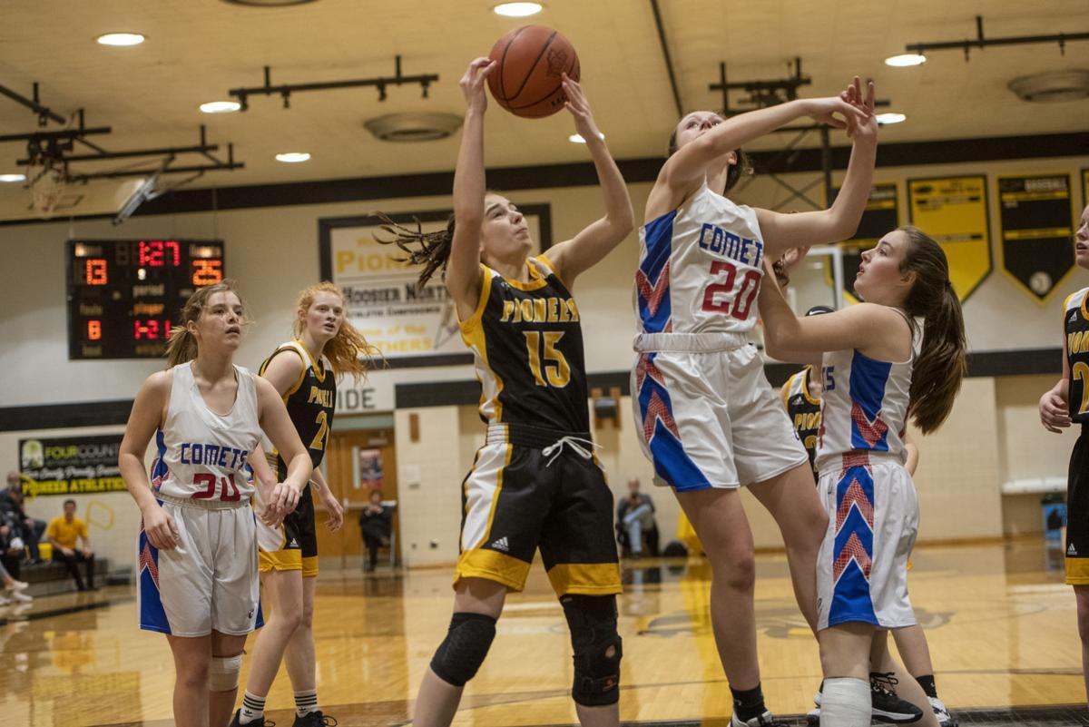 Pioneer vs Caston Basketball