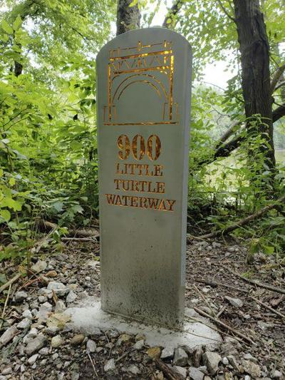 Address markers come to area trails
