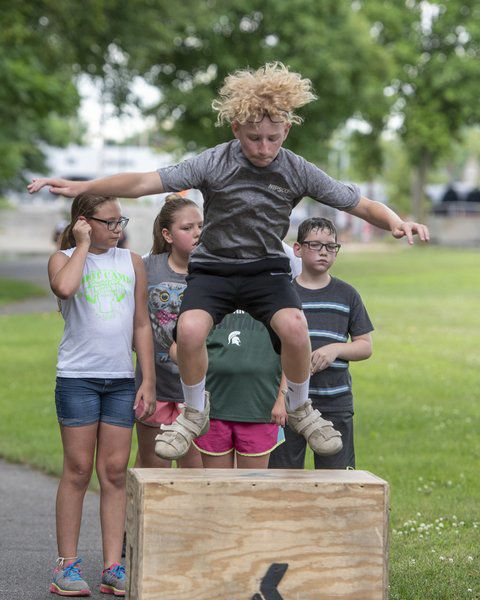 Cass County Family Y program keeps kids in shape while utilizing Little Turtle