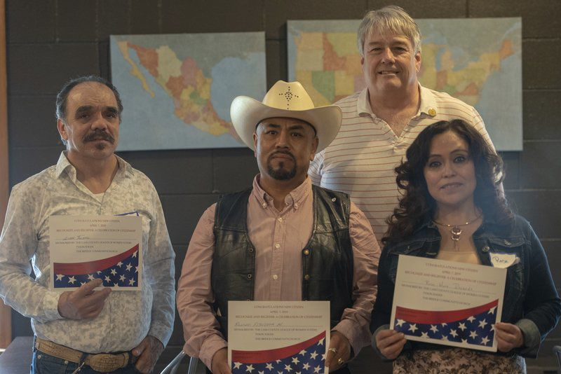 City welcomes new Americans at citizenship ceremony