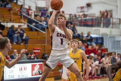 Lewis Cass plays against Pioneer