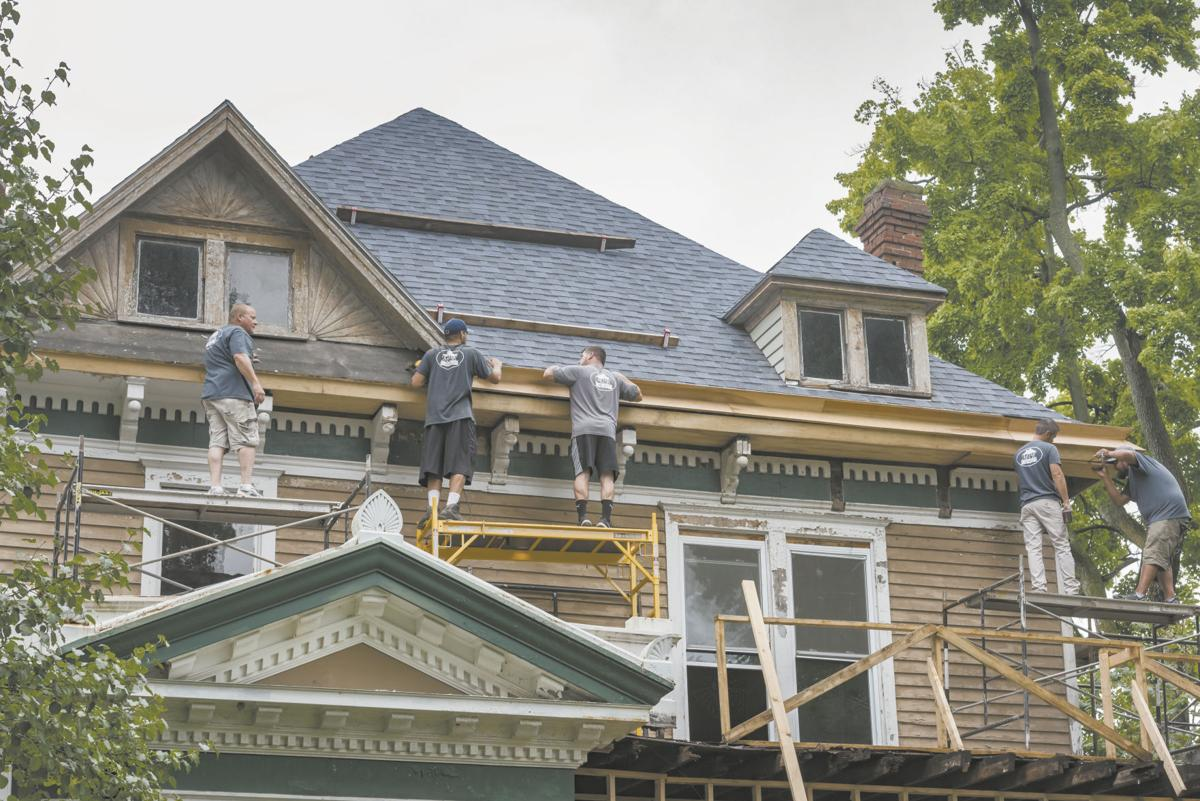 Indianapolis woman having historic Tipton house on North Street restored