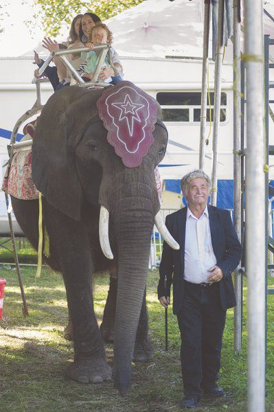 Protests surround the use of circus elephant at Kewanna Fall Festival