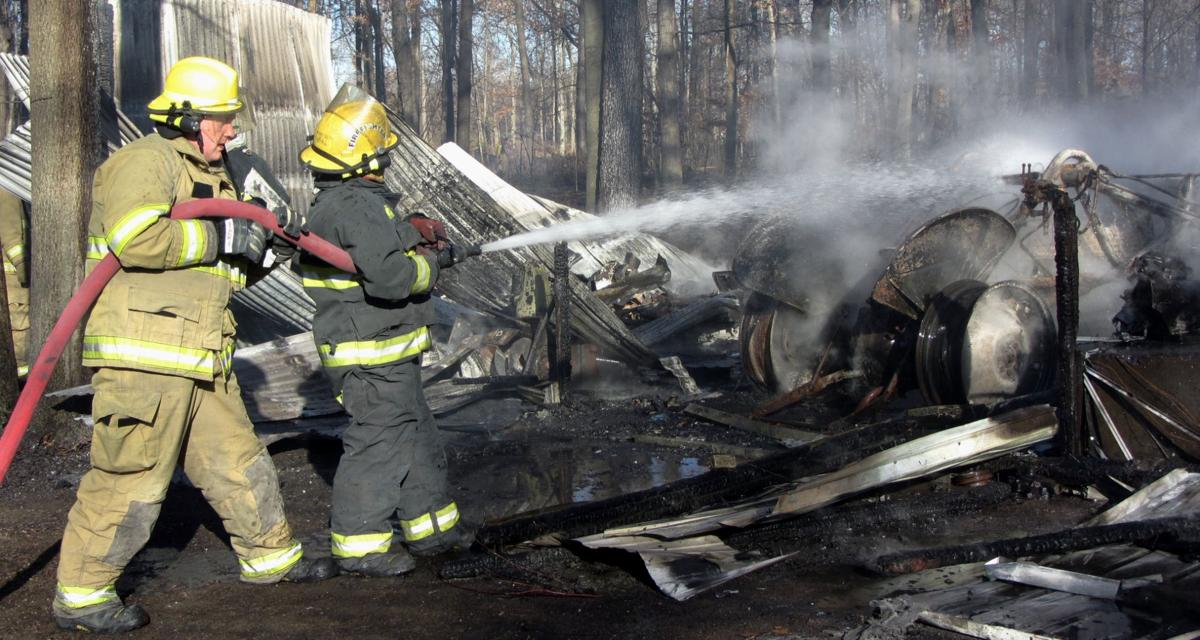 Garage, home catch fire in rural Carroll County | Local News