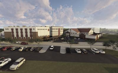 Jail addition rendering