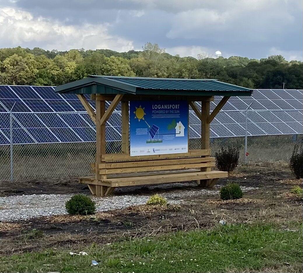 Logansport solar field