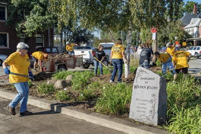 DAY OF DOING: Annual service event draws projects, volunteers