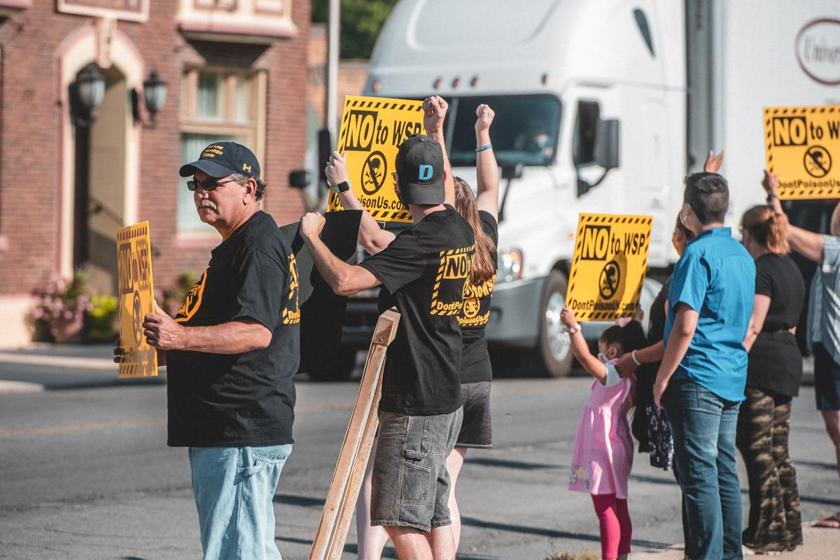 WSP protest