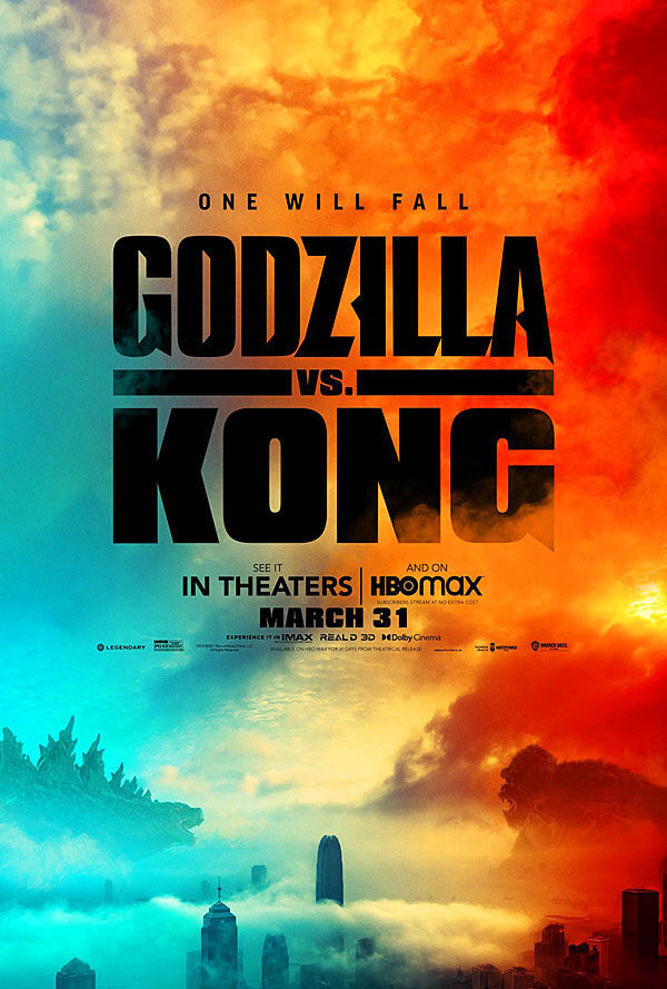 """Godzilla vs. Kong"" movie poster"