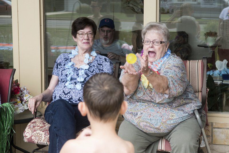 Neal Home helps residents with movement, socializing through new event