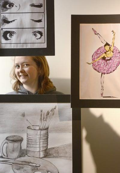 Drawing out talent: Art gallery opening for student, alumni work