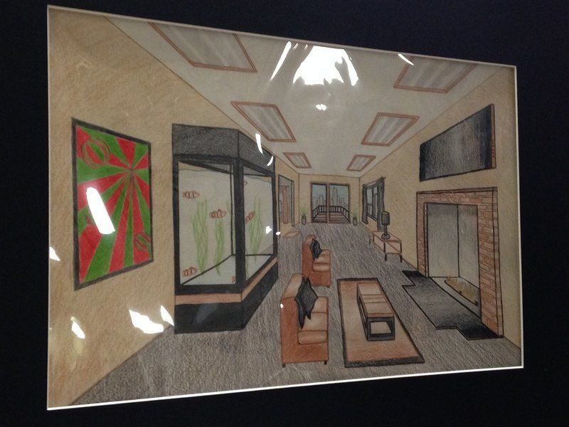 Corrections students excel in art contest