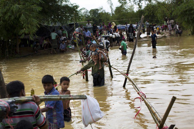 Rohingya refugees pose serious security threat: Centre to SC