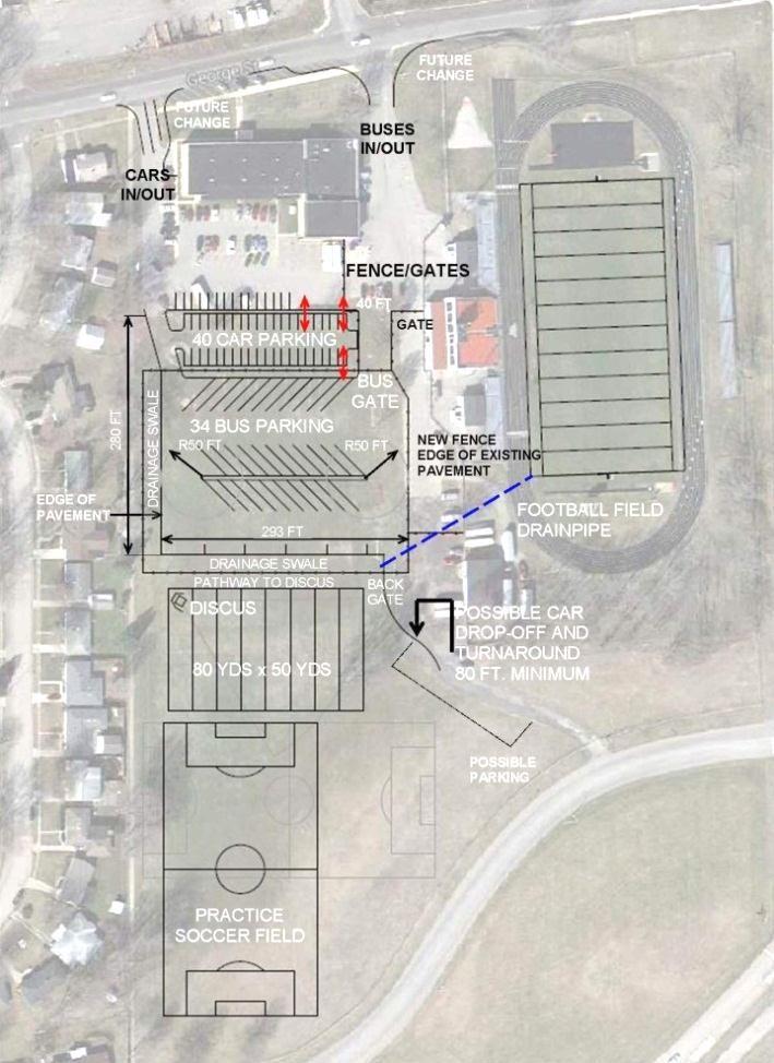 LCSC new parking lot