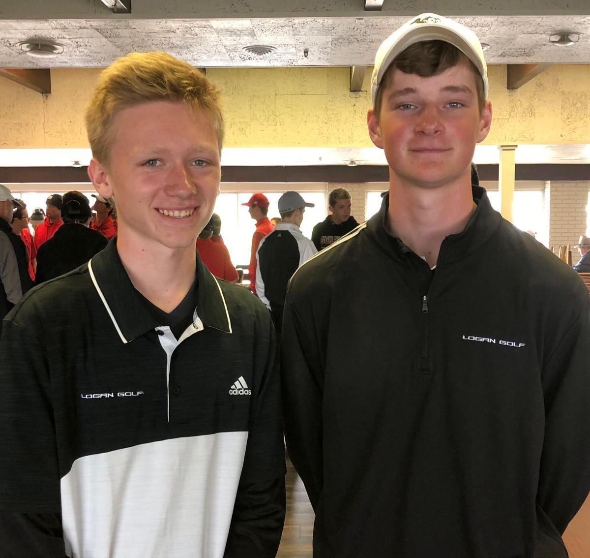 Logan golfers