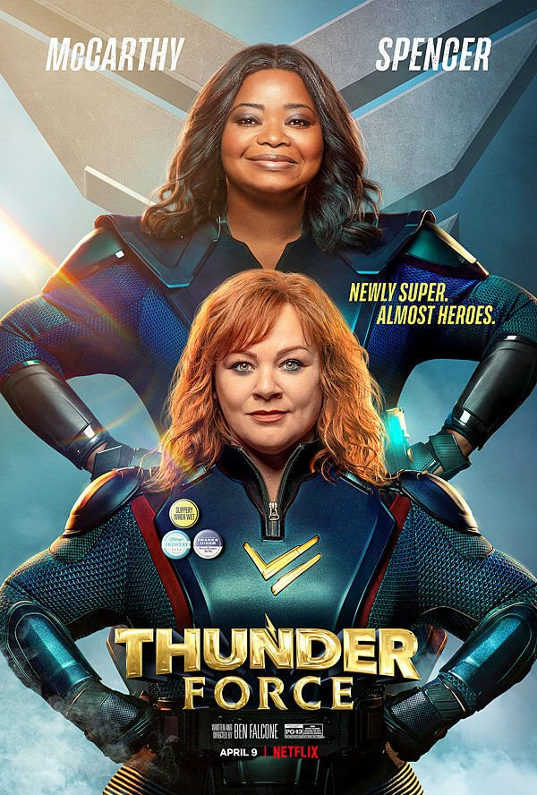 """Thunder Force"" movie poster"