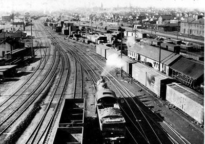 175th Anniversary: Railroads come to town