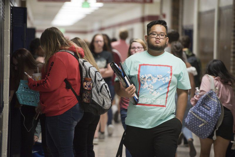 Wednesday was the first day for some students in our region