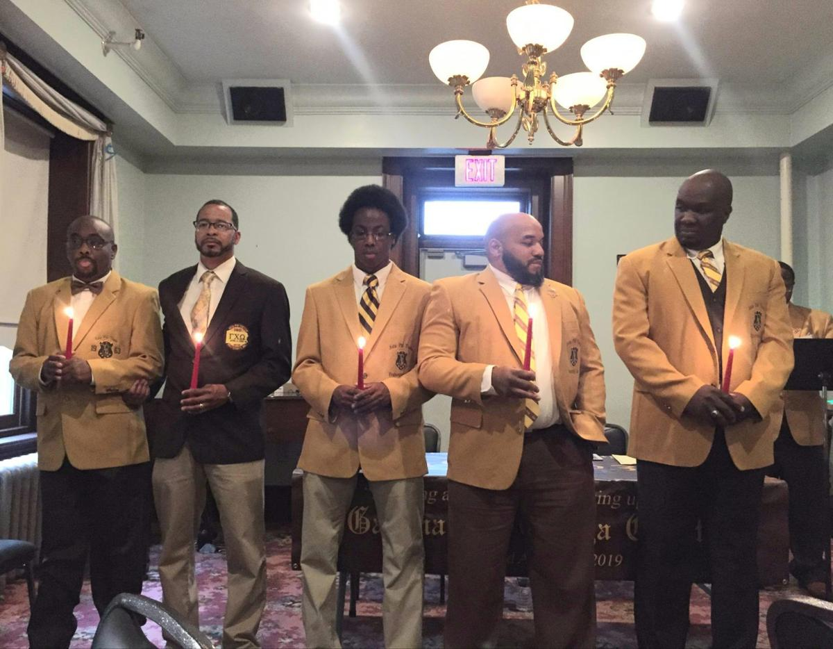 Gamma Chi Omega Chapter of  Iota Phi Theta Fraternity Incorporated is Chartered