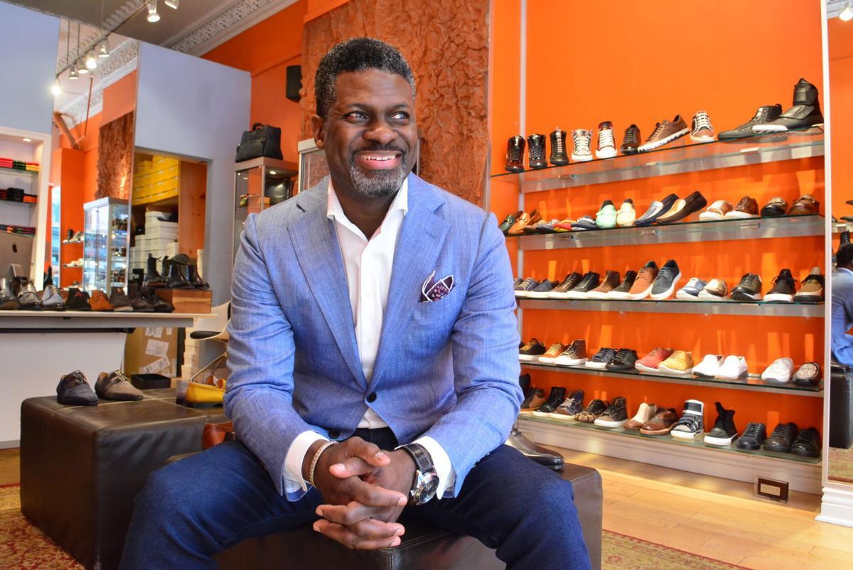 Steve Jamison Blue Sole Shoes Black Retailer Put Heart Soul Into Top Shelf Shoe News
