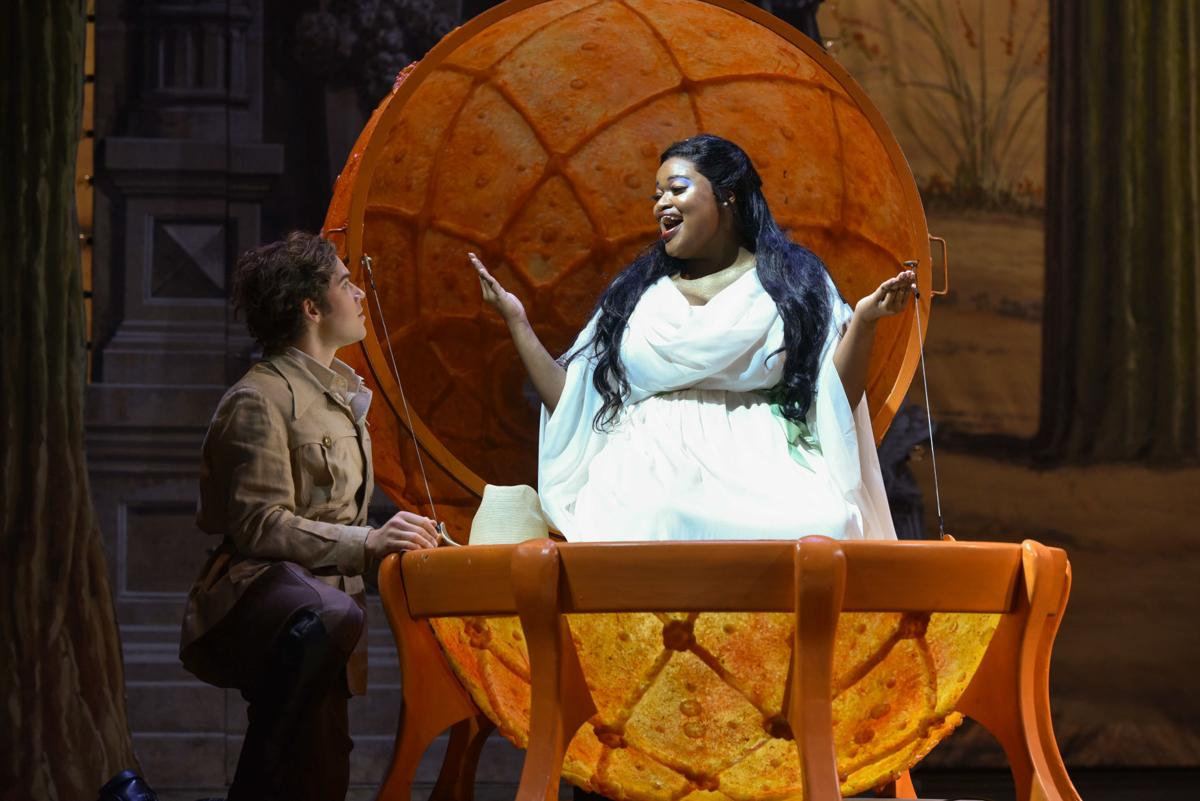 """Tiffany Townsend) and Jonathan Johnson """"The Love for Three Oranges"""""""