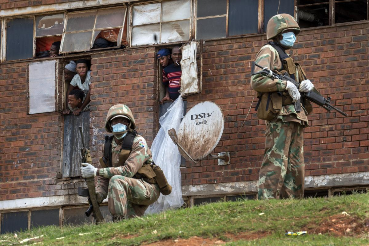 APTOPIX Virus Outbreak South Africa