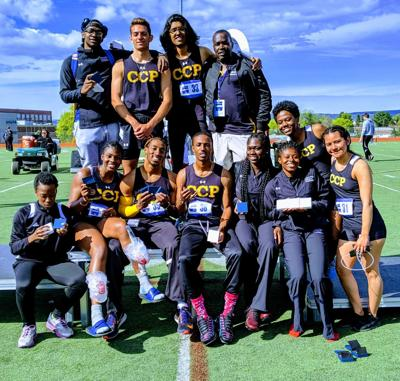 Community College of Philadelphia had 11 athletes receive All-America honors in track and field this season. — SUBMITTED PHOTO