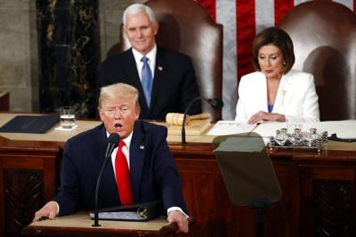 President Donald Trump delivers State of the Union