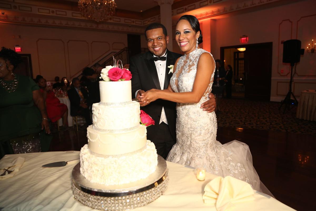 Ashley Johnson and Scott Williams