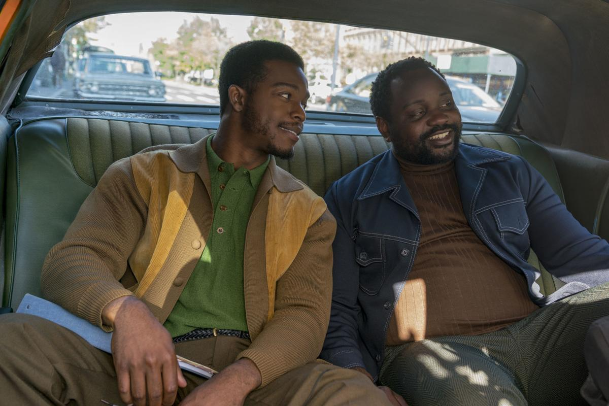 Film Brian Tyree Henry and Stephan James Beale Street