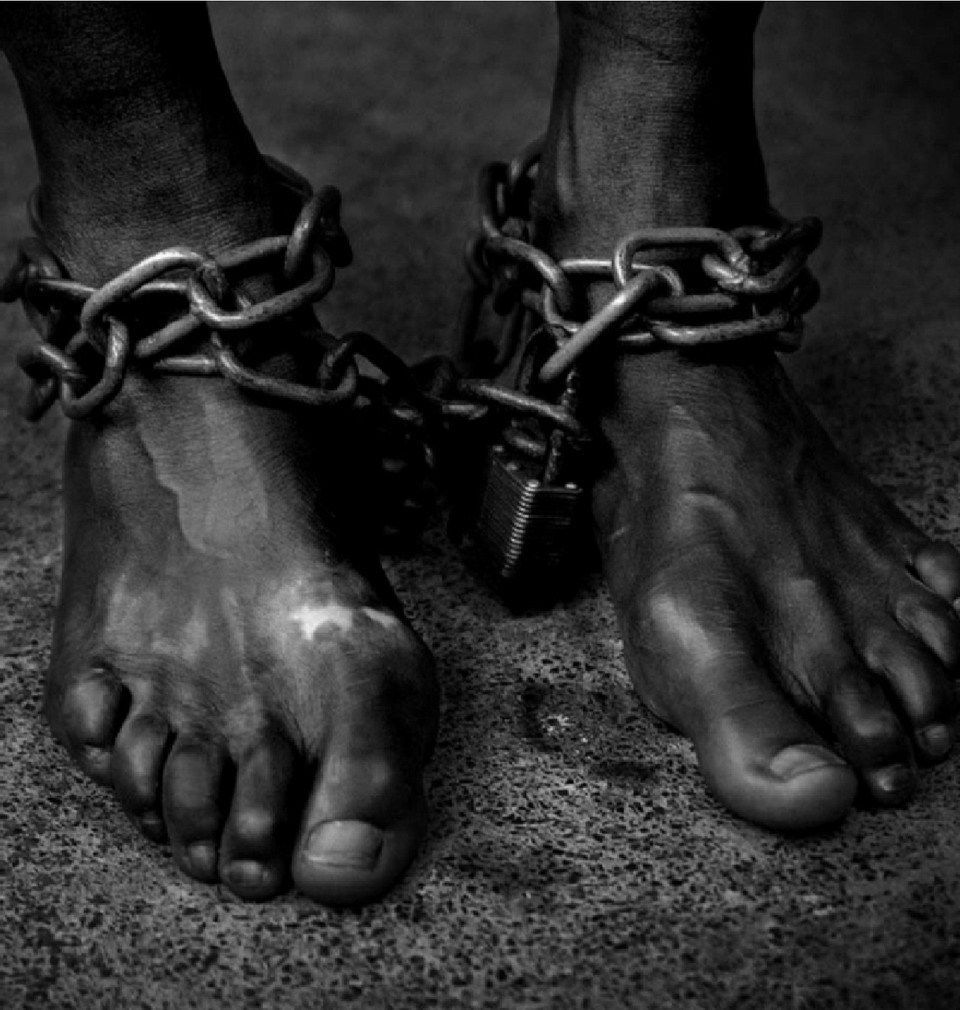 Image result for slavery chains
