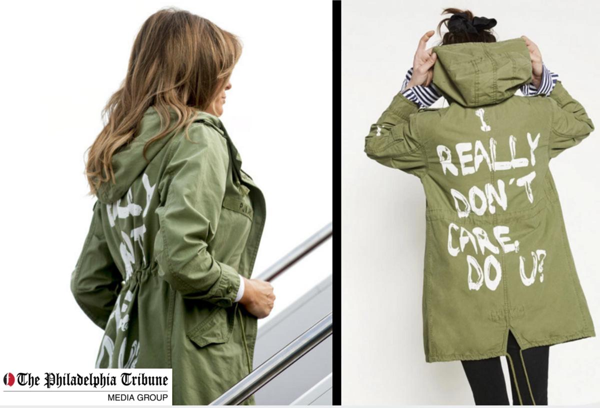 Melania and jacket