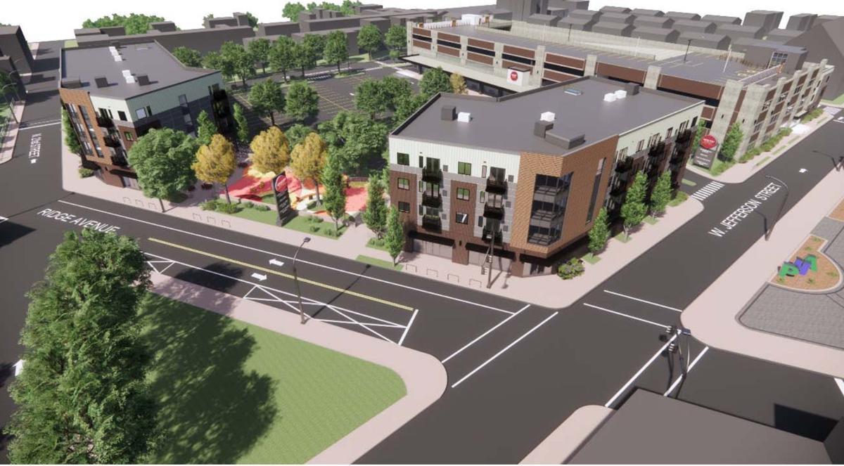 Philadelphia Housing Authority rendering of project