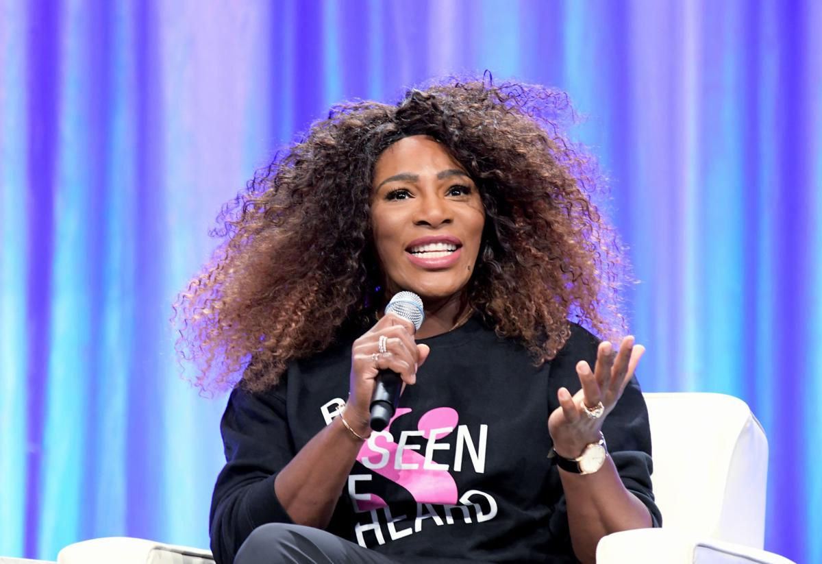 in philly serena williams urges women to create effective change news. Black Bedroom Furniture Sets. Home Design Ideas