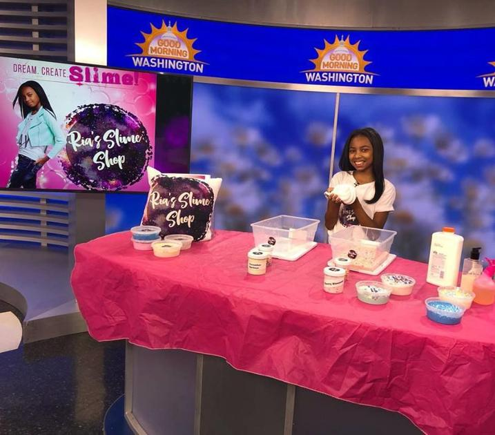 Science Princess' brings business savvy and slime
