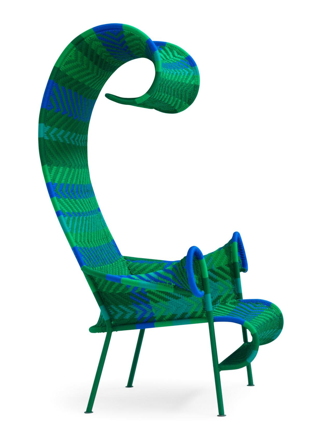 M'Afrique's Shadowy armchair