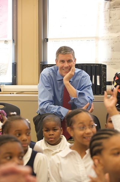 Federal, state, local officials visit E.M. Stanton School