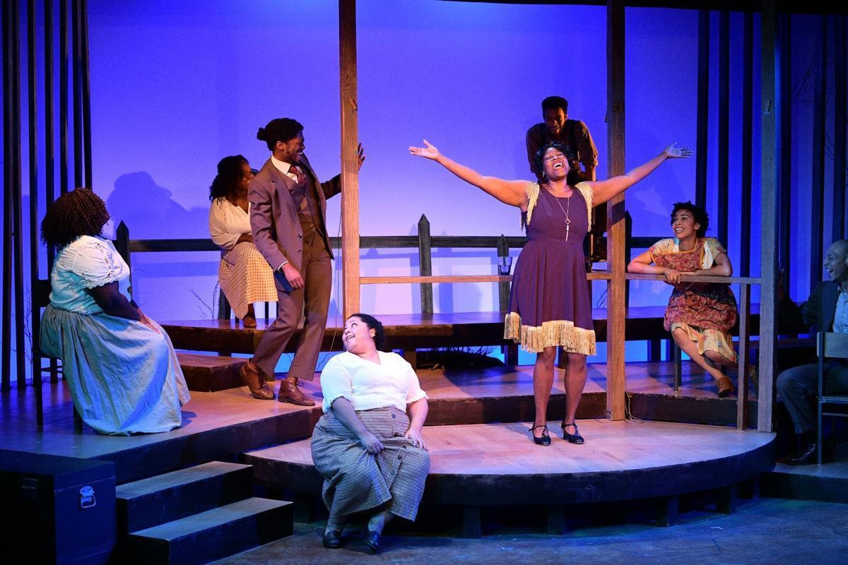 Ebony Pullum plays Shug Avery in The Color Purple