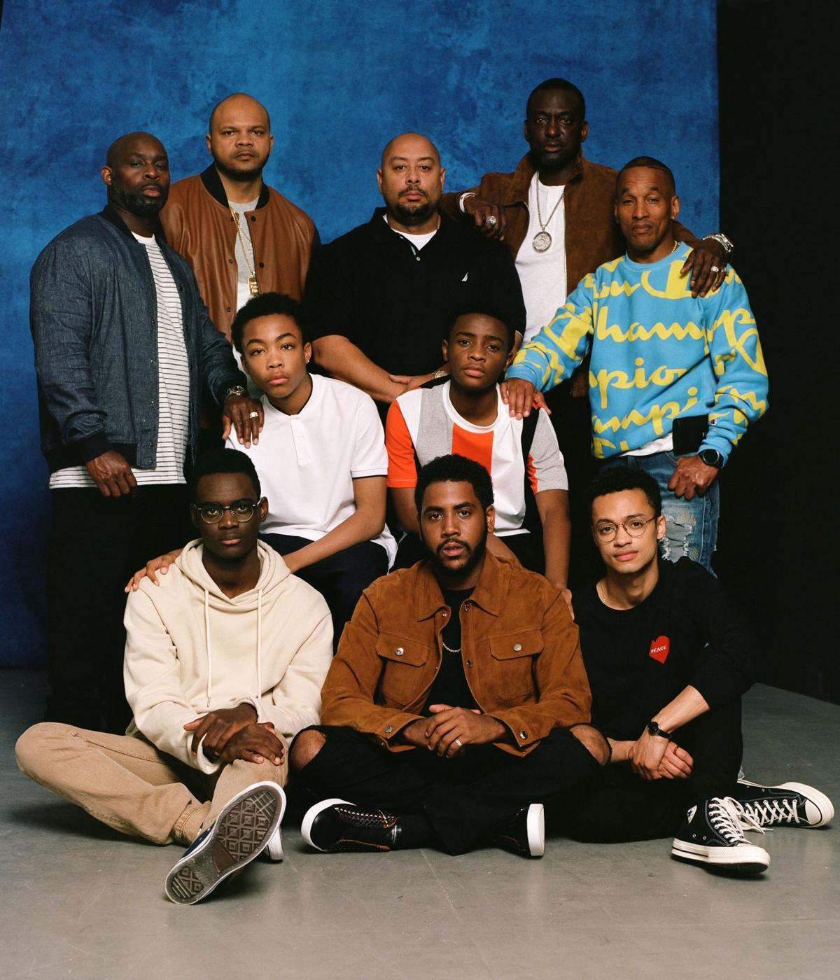 'When They See Us' - Actors with real Central Park 5 - Exonerated 5