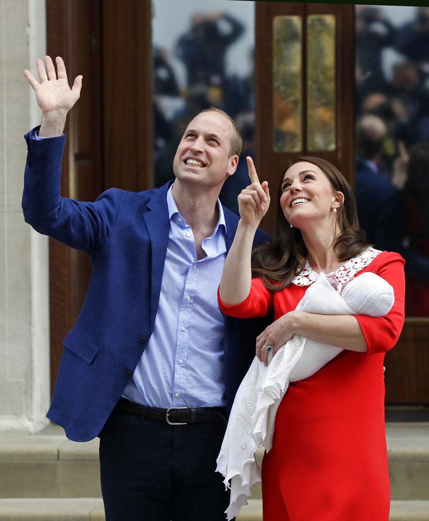 Royal Baby Arrives! Kate Leaves Hospital Hours After