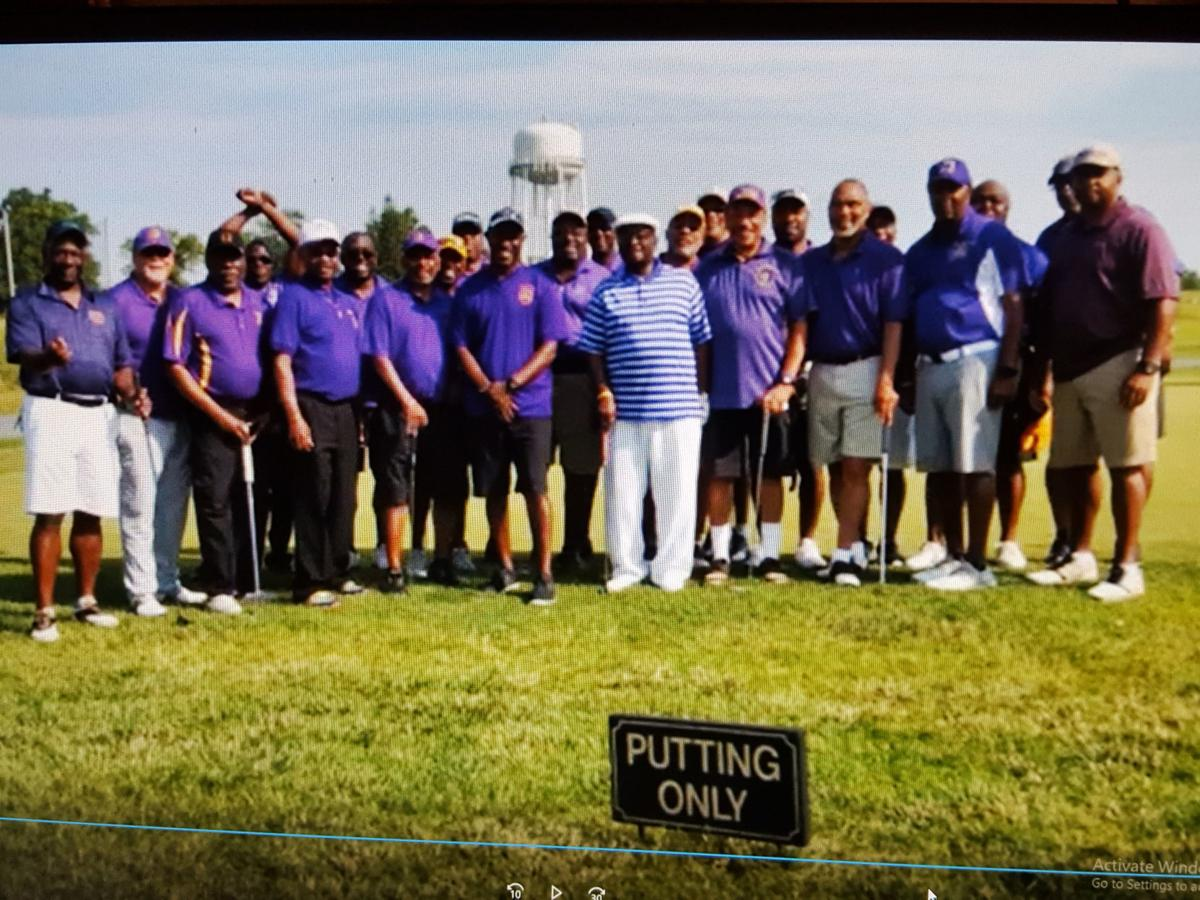 The Philadelphia area Omega Psi Phi Fraternity, Inc. celebrated its second annual Father's Day Golf Outing at Rock Manor Golf Course in Wilmington, Delaware. — SUBMITED PHOTO