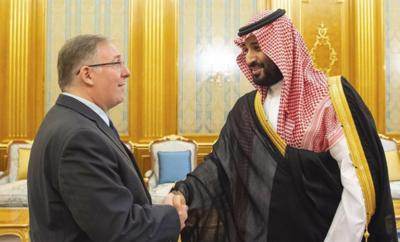 Joel Rosenberg and Saudi crown prince