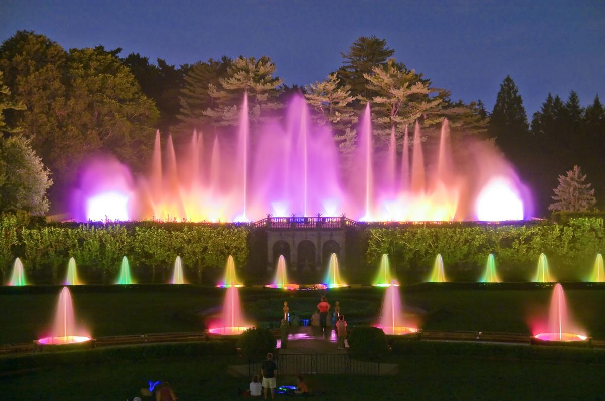 The Longwood Fountain Show Hits The Screen Entertainment